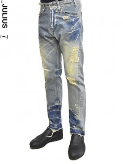 _JULIUS Straight Narrow Pants<img class='new_mark_img2' src='//img.shop-pro.jp/img/new/icons8.gif' style='border:none;display:inline;margin:0px;padding:0px;width:auto;' />