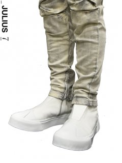 _JULIUS W Toe Cup Sneaker WHITE<img class='new_mark_img2' src='//img.shop-pro.jp/img/new/icons8.gif' style='border:none;display:inline;margin:0px;padding:0px;width:auto;' />