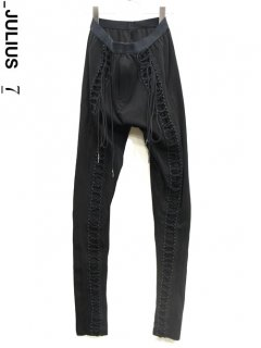 _JULIUS Fastening Leggings<img class='new_mark_img2' src='https://img.shop-pro.jp/img/new/icons8.gif' style='border:none;display:inline;margin:0px;padding:0px;width:auto;' />