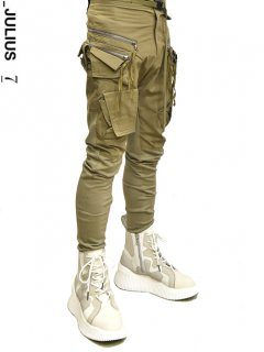 _JULIUS Multi Tactical Combination Pants [Kahki]<img class='new_mark_img2' src='https://img.shop-pro.jp/img/new/icons8.gif' style='border:none;display:inline;margin:0px;padding:0px;width:auto;' />