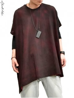 OfärdiGt: Cloak Cut&Sewn [Red dyed black] -limited-