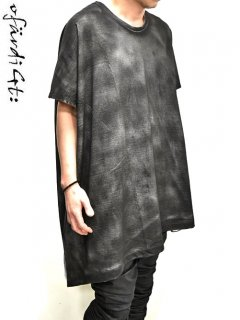 OfärdiGt: Cloak Cut&Sewn [white dyed black] -limited-