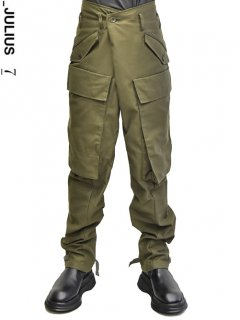 _JULIUS Baggy Cargo Pants -KHAKI-<img class='new_mark_img2' src='https://img.shop-pro.jp/img/new/icons8.gif' style='border:none;display:inline;margin:0px;padding:0px;width:auto;' />