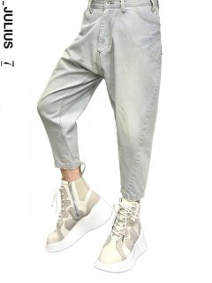 ※予約アイテム※_JULIUS Bending Cropped Pants -INDIGO-<img class='new_mark_img2' src='//img.shop-pro.jp/img/new/icons8.gif' style='border:none;display:inline;margin:0px;padding:0px;width:auto;' />