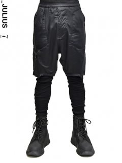 _JULIUS Military Leg Pocket Short Pants
