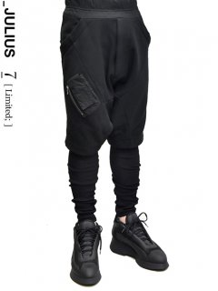 _JULIUS LIMITED Tactical Over Crotch Pants