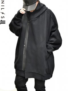NILøS Back Balloon Zip Hoodie<img class='new_mark_img2' src='//img.shop-pro.jp/img/new/icons8.gif' style='border:none;display:inline;margin:0px;padding:0px;width:auto;' />