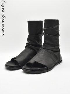 NostraSantissima Open Toe Boots