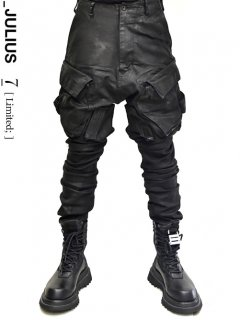 _JULIUS LIMITED Indirect Gasmask Cargo Pants[HARD COATING]]