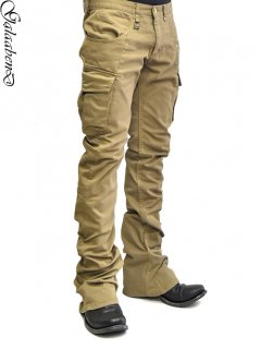 GalaabenD Shoe-cut Cargo Pants<img class='new_mark_img2' src='https://img.shop-pro.jp/img/new/icons38.gif' style='border:none;display:inline;margin:0px;padding:0px;width:auto;' />