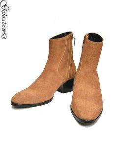 GalaabenD Velour Suede Heel Boots