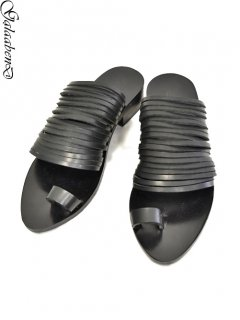GalaabenD Sandals -BLACK-<img class='new_mark_img2' src='https://img.shop-pro.jp/img/new/icons8.gif' style='border:none;display:inline;margin:0px;padding:0px;width:auto;' />