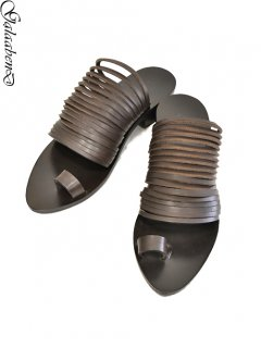 GalaabenD Sandals -D.BROWN-<img class='new_mark_img2' src='https://img.shop-pro.jp/img/new/icons8.gif' style='border:none;display:inline;margin:0px;padding:0px;width:auto;' />
