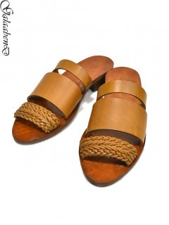 GalaabenD Sandals -BROWN-<img class='new_mark_img2' src='https://img.shop-pro.jp/img/new/icons8.gif' style='border:none;display:inline;margin:0px;padding:0px;width:auto;' />
