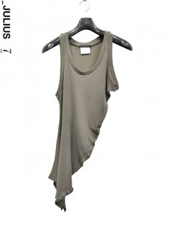 _JULIUS Shirring Tank Top<img class='new_mark_img2' src='https://img.shop-pro.jp/img/new/icons38.gif' style='border:none;display:inline;margin:0px;padding:0px;width:auto;' />