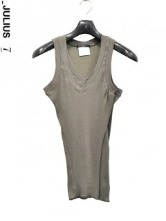 _JULIUS Front Layer Tank Top<img class='new_mark_img2' src='https://img.shop-pro.jp/img/new/icons38.gif' style='border:none;display:inline;margin:0px;padding:0px;width:auto;' />