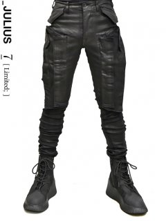 _JULIUS LIMITED Vertical Skinny Gasmask Cargo Pants[HARD COATING]<img class='new_mark_img2' src='https://img.shop-pro.jp/img/new/icons8.gif' style='border:none;display:inline;margin:0px;padding:0px;width:auto;' />