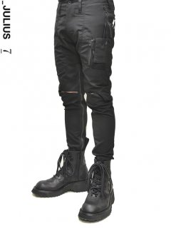 _JULIUS SLASH ZIP RIDER PANTS