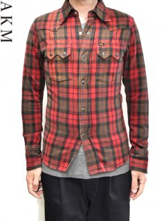 AKM×LEE Check Western Shirt<img class='new_mark_img2' src='https://img.shop-pro.jp/img/new/icons38.gif' style='border:none;display:inline;margin:0px;padding:0px;width:auto;' />