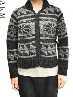 AKM×KANATA Cowichan sweater<img class='new_mark_img2' src='https://img.shop-pro.jp/img/new/icons38.gif' style='border:none;display:inline;margin:0px;padding:0px;width:auto;' />