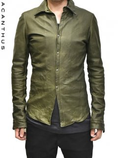 ACANTHUS Leather Basic Shirts