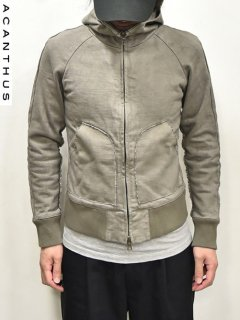 ACANTHUS EX Heavy Jersey Parka<img class='new_mark_img2' src='https://img.shop-pro.jp/img/new/icons38.gif' style='border:none;display:inline;margin:0px;padding:0px;width:auto;' />