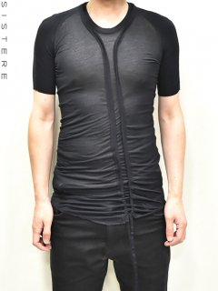 S/STERE Bending Back Seamed T-shirts<img class='new_mark_img2' src='https://img.shop-pro.jp/img/new/icons38.gif' style='border:none;display:inline;margin:0px;padding:0px;width:auto;' />