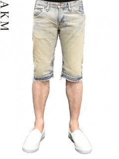 AKM×Wrangler Denim Short Pants <img class='new_mark_img2' src='//img.shop-pro.jp/img/new/icons20.gif' style='border:none;display:inline;margin:0px;padding:0px;width:auto;' />