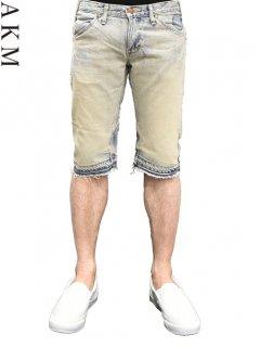 AKM×Wrangler Denim Short Pants <img class='new_mark_img2' src='https://img.shop-pro.jp/img/new/icons20.gif' style='border:none;display:inline;margin:0px;padding:0px;width:auto;' />