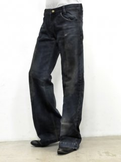 GalaabenD Wide Buggy Denim Pants [INDIGO]<img class='new_mark_img2' src='//img.shop-pro.jp/img/new/icons38.gif' style='border:none;display:inline;margin:0px;padding:0px;width:auto;' />