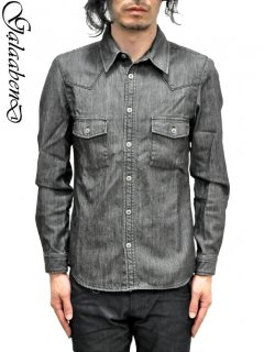 GalaabenD Denim  Western Shirt<img class='new_mark_img2' src='//img.shop-pro.jp/img/new/icons20.gif' style='border:none;display:inline;margin:0px;padding:0px;width:auto;' />