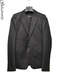 GalaabenD Tuxedo Cloth Jacket <1b/Peaked lapel><img class='new_mark_img2' src='//img.shop-pro.jp/img/new/icons32.gif' style='border:none;display:inline;margin:0px;padding:0px;width:auto;' />