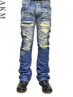 AKM×Wrangler Bundy Denim Pants [Crush]<img class='new_mark_img2' src='//img.shop-pro.jp/img/new/icons20.gif' style='border:none;display:inline;margin:0px;padding:0px;width:auto;' />