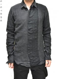 S/STERE Vertical Changed Shirt<img class='new_mark_img2' src='https://img.shop-pro.jp/img/new/icons16.gif' style='border:none;display:inline;margin:0px;padding:0px;width:auto;' />