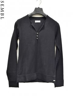 SEMBL Henly Neck Cut&sewn L/S<img class='new_mark_img2' src='https://img.shop-pro.jp/img/new/icons20.gif' style='border:none;display:inline;margin:0px;padding:0px;width:auto;' />