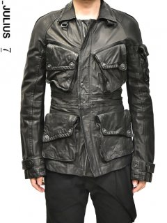 _JULIUS Leather Field Jacket<img class='new_mark_img2' src='//img.shop-pro.jp/img/new/icons20.gif' style='border:none;display:inline;margin:0px;padding:0px;width:auto;' />