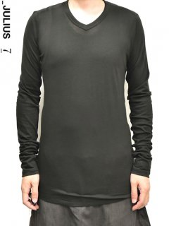 _JULIUS V Neck Cut&sewn L/S <img class='new_mark_img2' src='https://img.shop-pro.jp/img/new/icons20.gif' style='border:none;display:inline;margin:0px;padding:0px;width:auto;' />