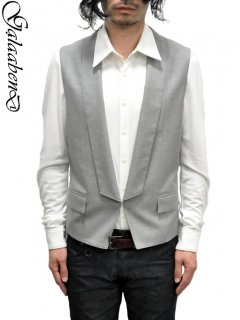 GalaabenD Shawl Collar Gillet [Vest]<img class='new_mark_img2' src='//img.shop-pro.jp/img/new/icons20.gif' style='border:none;display:inline;margin:0px;padding:0px;width:auto;' />