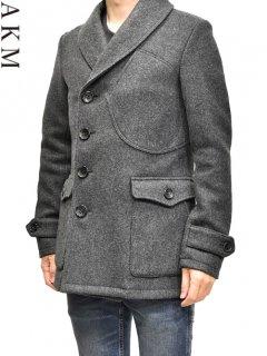 AKM Shawl Collar P-coat<img class='new_mark_img2' src='https://img.shop-pro.jp/img/new/icons38.gif' style='border:none;display:inline;margin:0px;padding:0px;width:auto;' />