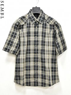 SEMBL Check Shirt S/S<img class='new_mark_img2' src='https://img.shop-pro.jp/img/new/icons38.gif' style='border:none;display:inline;margin:0px;padding:0px;width:auto;' />