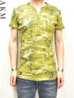 AKM Henly Neck T Shirt<img class='new_mark_img2' src='https://img.shop-pro.jp/img/new/icons20.gif' style='border:none;display:inline;margin:0px;padding:0px;width:auto;' />