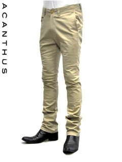 ACANTHUS Stretch Chino Shoe-Cut Pants <img class='new_mark_img2' src='//img.shop-pro.jp/img/new/icons20.gif' style='border:none;display:inline;margin:0px;padding:0px;width:auto;' />