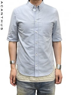 ACANTHUS Button-down Shirt H/S<img class='new_mark_img2' src='https://img.shop-pro.jp/img/new/icons38.gif' style='border:none;display:inline;margin:0px;padding:0px;width:auto;' />