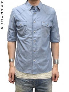 ACANTHUS Western Shirt H/S<img class='new_mark_img2' src='//img.shop-pro.jp/img/new/icons20.gif' style='border:none;display:inline;margin:0px;padding:0px;width:auto;' />
