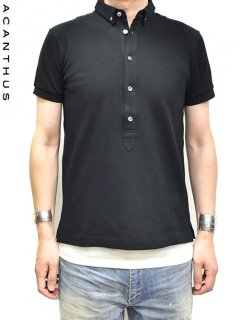 ACANTHUS Button-down Polo Shirt S/S<img class='new_mark_img2' src='https://img.shop-pro.jp/img/new/icons38.gif' style='border:none;display:inline;margin:0px;padding:0px;width:auto;' />