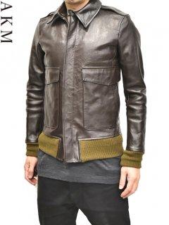 AKM A-2 Leather Jacket