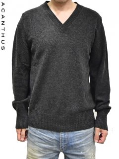 ACANTHUS V neck Pullover Knit<img class='new_mark_img2' src='https://img.shop-pro.jp/img/new/icons38.gif' style='border:none;display:inline;margin:0px;padding:0px;width:auto;' />