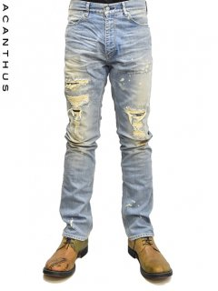 ACANTHUS Leather Repair Damage Denim<img class='new_mark_img2' src='https://img.shop-pro.jp/img/new/icons38.gif' style='border:none;display:inline;margin:0px;padding:0px;width:auto;' />