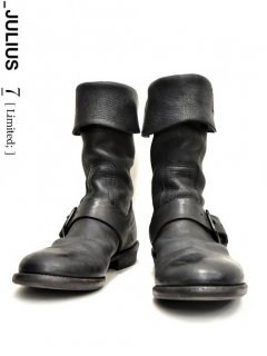 _JULIUS LIMITED Turn-Up Engineer Boots <img class='new_mark_img2' src='//img.shop-pro.jp/img/new/icons32.gif' style='border:none;display:inline;margin:0px;padding:0px;width:auto;' />