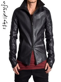 OfärdiGt: Overstitched Leather Jacket